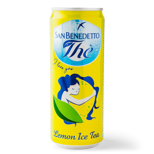 Lemon ice tea, San Benedetto 5x330ml