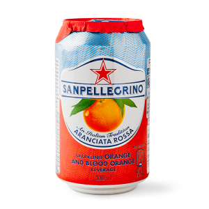 San Pellegrino Blood Orange 6x330ml sparkling orange and blood orange beverage